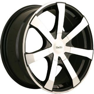 Touren TR90 18 Machined Black Wheel / Rim 5x112 & 5x120 with a 40mm Offset and a 72.62 Hub Bore. Partnumber 3290 8809BF: Automotive