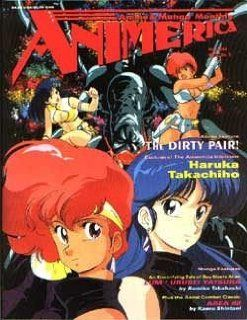 Animerica Magazine Volume 2, Issue Number 5 (Anime & Manga Monthly: The Dirty Pair!, Volume 2): Kaoru Shintani, Trish Ledoux: Books