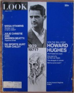 What Happened to Howard Hughes? / Norman Rockwell's 78th Spring / Can a Computer Beat the Horses? / Is There a Bit of Calley in Us? (LOOK Magazine, Volume 35, Number 11, June 1, 1971) Charles McLaughlin Books