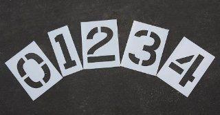 "RAE   12"" NUMBER KIT Plastic Paint Stencils, 1/16""   Duro Last   Power Rotary Hammers"