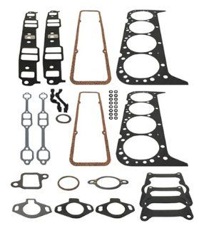 CYLINDER HEAD AND INTAKE MANIFOLD GASKET SET  GLM Part Number 39690; Sierra Part Number 18 4392; Mercury Part Number 27 75611A2 Automotive
