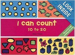 I Can Count 10 to 20: Flip Card Fun with Number Games: Anna Nilsen: 0046442451895: Books
