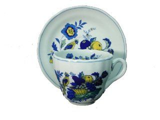 "Spode China Blue Bird S3274 Cup & Saucer Set Cup 2 3/4"" X 3 1/4"": Everything Else"