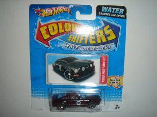 2011 Hot Wheels Color Shifters Water Revealers Ford Mustang GT Dark Red: Toys & Games