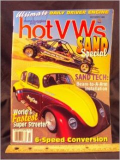 1996 96 OCT October DUNE BUGGIES and HOT VWs Magazine, Volume 29 Number # 10: Wright Publishing Company: Books