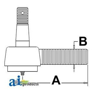 A & I Products Tie Rod, Short Inner Replacement for John Deere Part Number AR27430: Industrial & Scientific