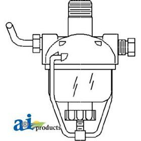 A & I Products Strainer, Fuel Replacement for John Deere Part Number AM3100T: Industrial & Scientific