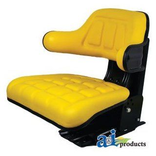 A & I Products Complete Seat, Wrap Around Back w/ Arms, YLW. Replacement for John Deere Part Number TY24763: Industrial & Scientific