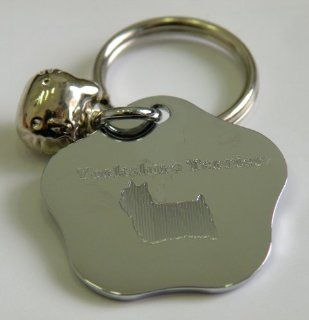 Pet ID Tag,Yorkshire Terrier ,Hand Made Personalized Pet Identification Tag,Dog Tag 100% Pure Zinc Stainless Steel With Beautiful Laser Engraving. Simply Just Tell us Your Pet Name,Phone Number,Breed and Character Font,You'll Receive The Most Beautiful
