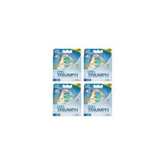 Oral B Triumph FlossAction Brushheads 4 3 packs (12 total Brushheads): Health & Personal Care