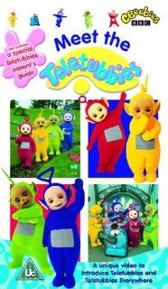 Teletubbies [VHS]: Rolf Saxon, Jessica Smith, John Simmit, Nikky Smedley, Pui Fan Lee, Tim Whitnall, Eric Sykes, Toyah Willcox, Mark Heenehan, Dave Thompson, Simon Shelton, Sandra Dickinson, David Hiller, Andrew Davenport, Sue James: Movies & TV