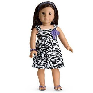 American Girl Safari Sundress for Dolls (My American Girl, American Girl of Today, Just Like You) Toys & Games
