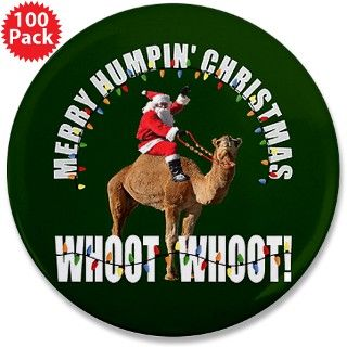 Merry Humpin Christmas Santa and Hump Day Camel 3. by FunniestGift