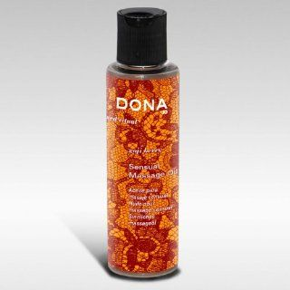 System Jo Dona Engage Massage Oil, Goji Berry, 4.7 Ounce: Health & Personal Care