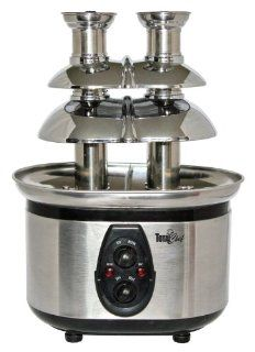 Total Chef WTF 43 Stainless Steel Double Tower Chocolate Fountain: Kitchen & Dining