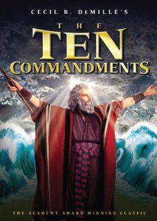 The Ten Commandments Anne Baxter, Yul Brynner, Yvonne De Carlo, Edward G. Robinson, Charlton Heston, Cecil B. Demille Movies & TV