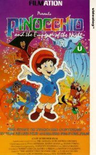 Pinocchio and the Emperor of the Night [VHS]: Edward Asner, Tom Bosley, Lana Beeson, Linda Gary, Jonathan Harris, James Earl Jones, Rickie Lee Jones, Don Knotts, Frank Welker, William Windom, Scott Grimes, Liza Minnelli, Hal Sutherland, Erika Scheimer, Joh