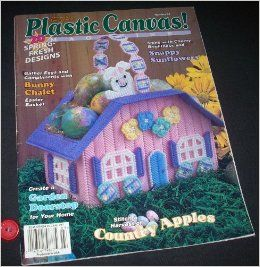Plastic Canvas! Magazine Number 55   March/April 1998: Sr. Editor: Janet Tipton: Books