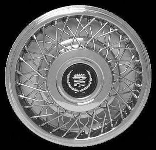 """89 04 CADILLAC SEVILLE WHEEL COVER HUBCAP HUB CAP 15 INCH, WIRE BRIGHT SILVER FWD 15"""" inch (center not included) (1989 89 1990 90 1991 91 1992 92 1993 93 1994 94 1995 95 1996 96 1997 97 1998 98 1999 9: Automotive"""