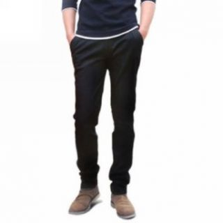 Motony Men's Fashion Chinos Straight Slim Fit Trousers Casual Long Pants: Clothing