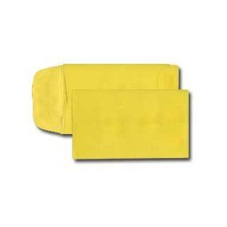Mini Coin Translucent Envelope   29# Yellow Translucent (2 1/4 x 3 1/2) (Pkg of 50): Office Products
