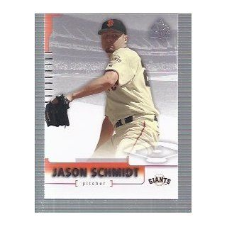 2004 SP Authentic #37 Jason Schmidt San Francisco Giants: Sports Collectibles