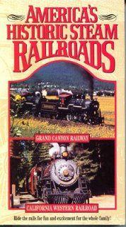 America's Historic Steam Railroads Series Two Grand Canyon Railway and California Western Railroad Movies & TV