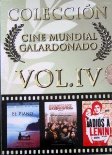Coleccion Cine Mundial Galardonado vol. 4 (The Piano / Rosenstrasse / Goodbye Lenin) [NTSC/Region 1&4 dvd. Import   Latin America] 3 dvd boxset (Spanish subtitles): Holly Hunter, Katja Riemann, Daniel Br�hl, Jane Campion, Margarethe von Trotta, Wolfgan