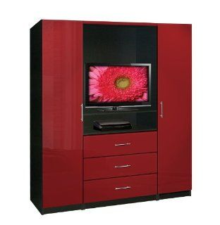 Aventa TV Armoire   Wardrobe Closets & Armoires   Bedroom Armoires