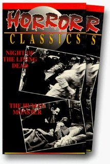 Night of the Living Dead/Human Monster [VHS]: Bill 'Chilly Billy' Cardille, Charles Craig (II), Frank Doak, Marilyn Eastman, Jack Givens, Karl Hardman, Lee Hartman, S. William Hinzman, Duane Jones, George Kosana, A.C. McDonald, Judith O'Dea, Ma