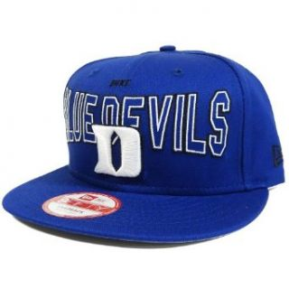 Duke Blue Devils 9Fifty Outter Snap Snapback Hat Clothing