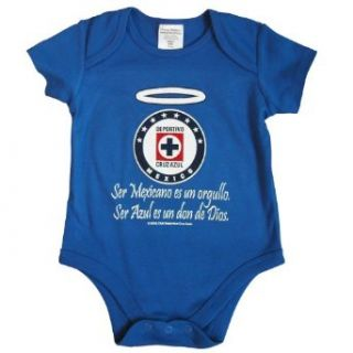 Cruz Azul Gifts Bodysuit 12MO (Royal ): Clothing