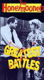 Honeymooners: Greatest Battles [VHS]: Jackie Gleason, Art Carney, Audrey Meadows, Joyce Randolph, Jack Lescoulie, George Petrie, Frank Marth, Eddie Hanley, Sammy Birch, Les Damon, John Gibson, Cliff Hall: Movies & TV