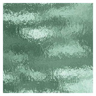 "Spectrum Seafoam Green Cathedral Rough Rolled Stained Glass Sheet   8"" X 12"" (.67sf)"