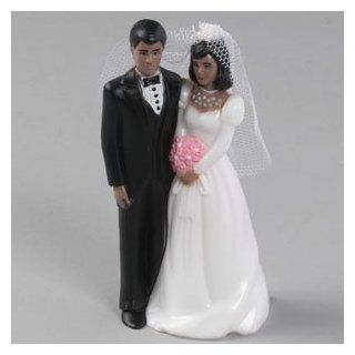 Traditional Bridal Couple Black Tux African American ~ Wedding Accessory ~ LOOK