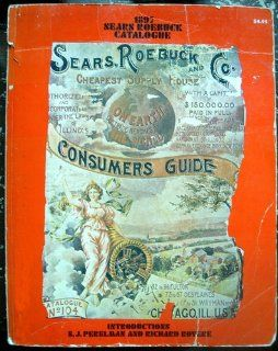 Roebuck Catalogue 1897. Cheapest Supply HouseConsumers Guide Catalogue No 104: Books