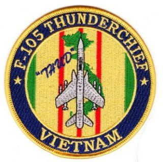 "F 105 Thunderchief ""Thud"" Vietnam Patch: Everything Else"