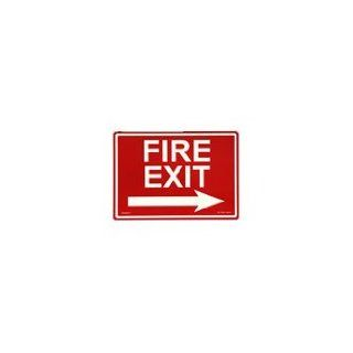 "Photoluminescent Fire Safety ""Fire Exit"" Sign with Right Arrow ESW F 105 RN: Industrial & Scientific"