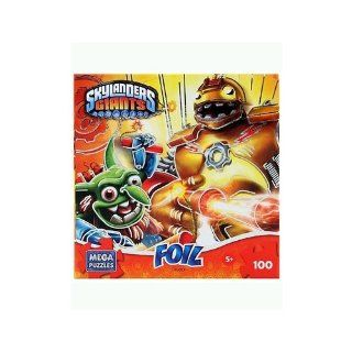 Skylanders Giants 100 piece Crusher Foil Puzzle: Toys & Games