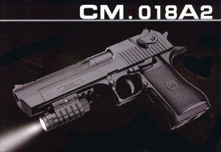 Electric CYMA Desert Eagle Pistol FPS 200, Blowback, Tactical Light Airsoft Gun Toys & Games