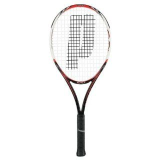 Prince '10 EXO3 Hybrid Red 102 Tennis racquet : Intermediate Tennis Rackets : Sports & Outdoors