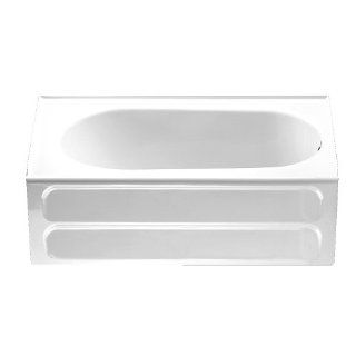 American Standard 2083.102.020 Standard Collection 5 Feet Right Hand Outlet Bath Tub, White: Home Improvement