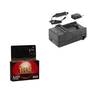 Sony CCD TRV416 Camcorder Accessory Kit includes HI8TAPE Tape/ Media, SDM 105 Charger  Digital Camera Accessory Kits  Camera & Photo