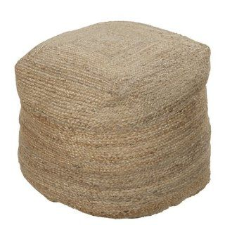 Surya Lima Collection Pouf Ottoman   Coffee Tables