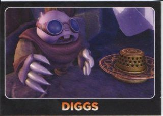 Skylanders Giants No. 113 DIGGS   Supporting Characters and Hats Individual Trading Card: Toys & Games