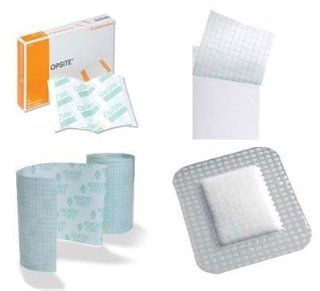 Smith Nephew OpSite Dressings Transparent Dressings   8 x 4 Inch: Health & Personal Care