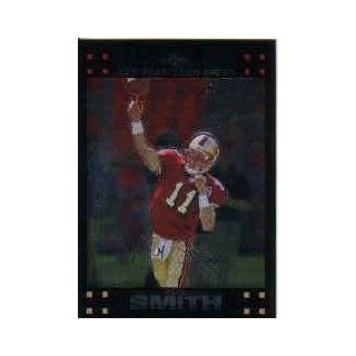 2007 Topps Chrome #TC118 Alex Smith QB: Sports Collectibles
