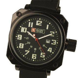 ESS New Gents Men Automatic Wrist Watch Black Leather Strap & Dial WM121: Watches