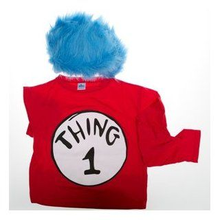 Dr. Seuss' Thing 1 Costume (S/M): Toys & Games