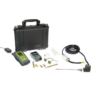 TPI 714 Combustion Efficiency Analyzer with Infrared Printer, 20' Flue Gas Analyzer Probe and Hard Carrying Case, Rechargeable Ni MH Batteries, Backlit LCD Display, 14 to 122 Degree F: Industrial & Scientific